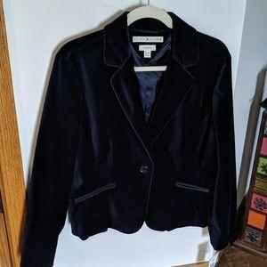 Tommy Hilfiger Blue Velvet Jacket (XL)